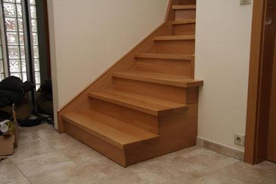 Betonlépcső burkolás kép - Galler lépcső